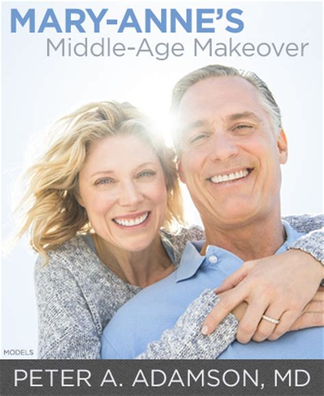 age reducing makeovers mary anne s middle age makeover by peter a adamson m d