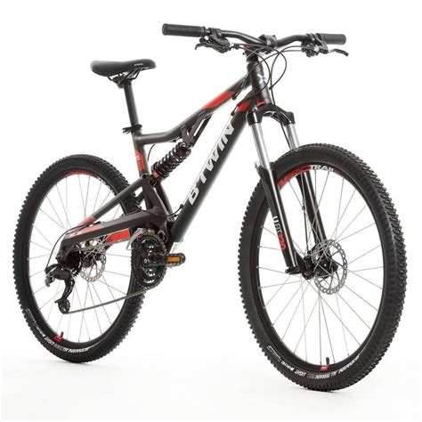d mountain bike rockrider 520s suspension mountain bike 27 5 quot