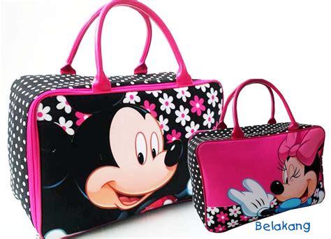 Tas Travel Minnie Mouse Ukuran Kecil handuk lucu minnie pernak pernik anak