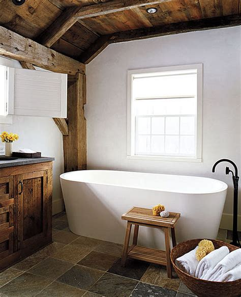 Modern Rustic Bathroom - modern rustic barn home bunch interior design ideas
