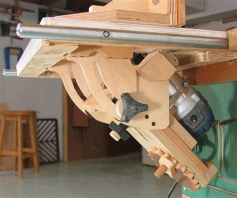 woodworking ca tilting router lift