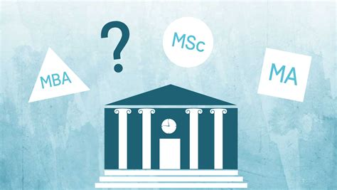 Msc And Mba Difference by Mba Msc Ma What Is The Difference