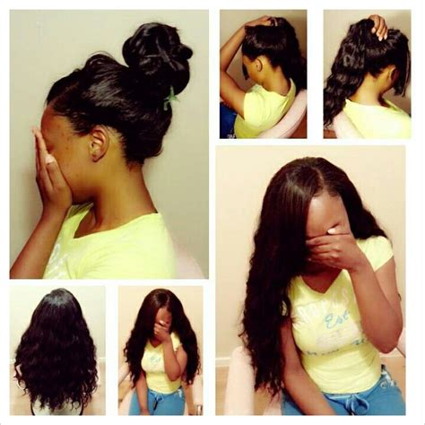 pronto styles pronto quick weave natural looking hair do s pinterest