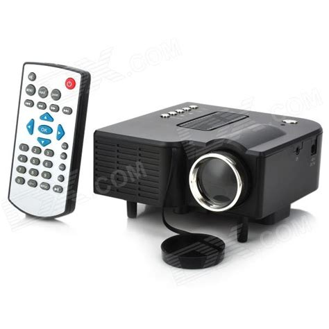 Proyektor Mini Uc 28 ruiq uc 28 24w mini lcd projector w hdmi 3 5mm sd usb gray free shipping dealextreme