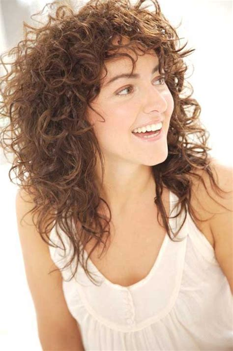 shaggy permed hair 20 best curly cuts long hairstyles 2016 2017