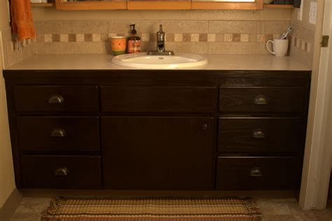 staining bathroom cabinets diy java wood stain plans free