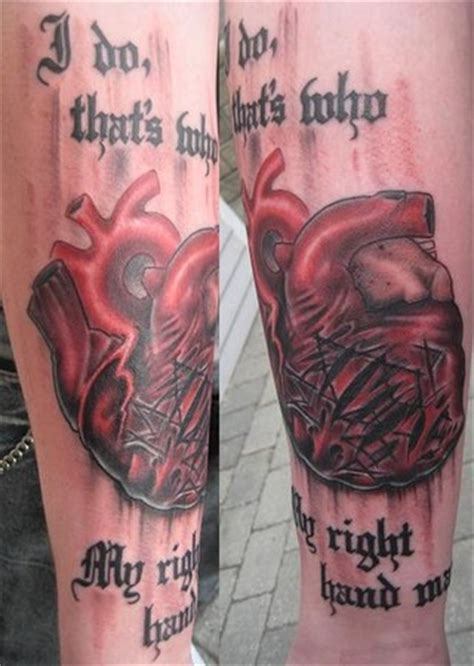 heart on sleeve tattoo tattoo collections