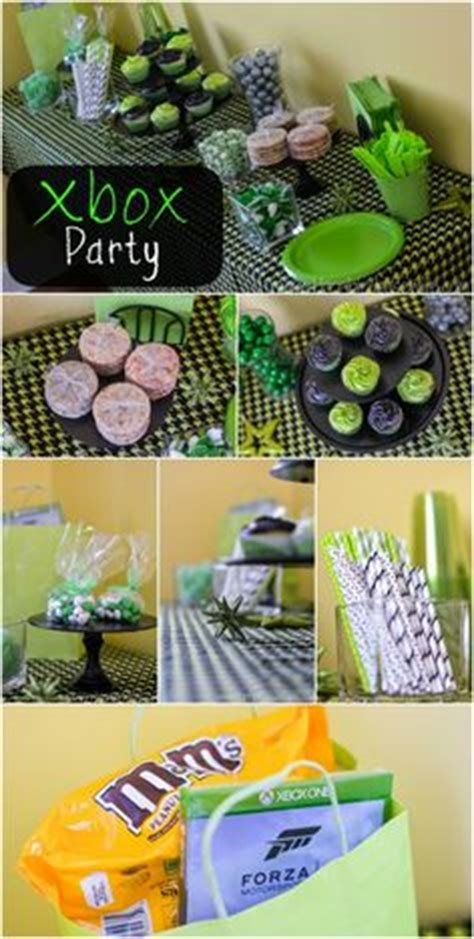 xbox 360 themed birthday party 1000 images about xbox party theme on pinterest xbox
