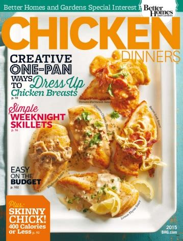 better homes gardens august 2010 187 pdf magazines archive better homes and gardens chicken dinners 2015 free