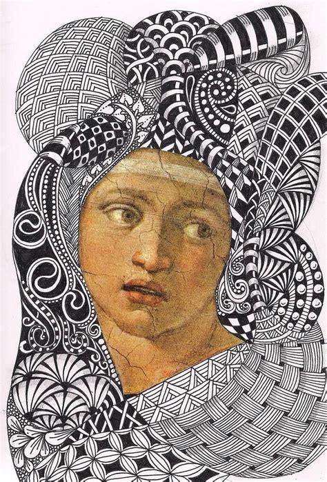 zentangle pattern illustrator 18 best ilustrador barbara finwall images on pinterest