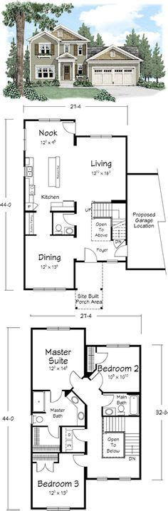 Galley Style Kitchen Floor Plans by Two Story Plans On Pinterest Modular Homes Galley