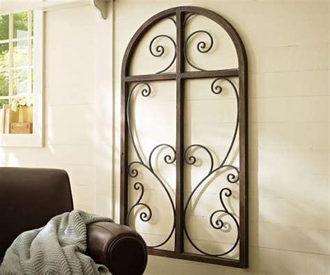 wrought iron wall decor decorating ideas