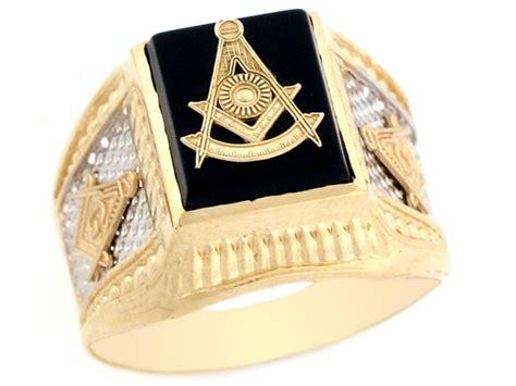 10k 14k two tone real gold past master freemason masonic