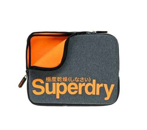 To Superdry 13 superdry 13 quot neoprene laptop sleeve marl orange