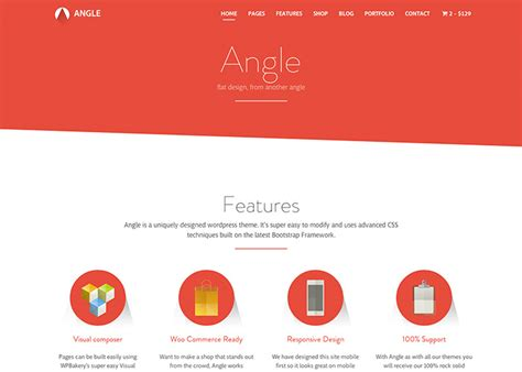bootstrap themes angle angle flat responsive bootstrap multipurpose theme nominee