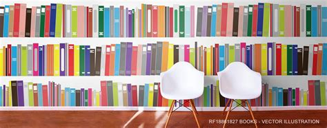 with books book murals library wallpaper
