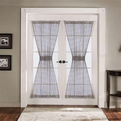 window curtains for doors best 25 french door curtains ideas on pinterest