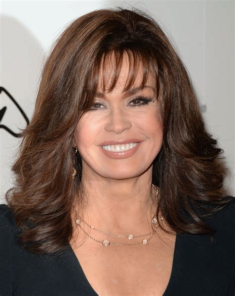 how to cut hair like marie osmond at critics choice awards lovely marie osmond pinterest