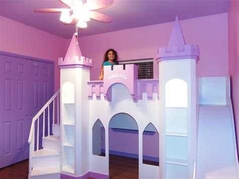 Castle Loft Bed by New Custom Princess Abigail S Castle Ebay