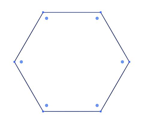 draw hexagon illustrator vector how to make a bulged hexagon in adobe illustrator