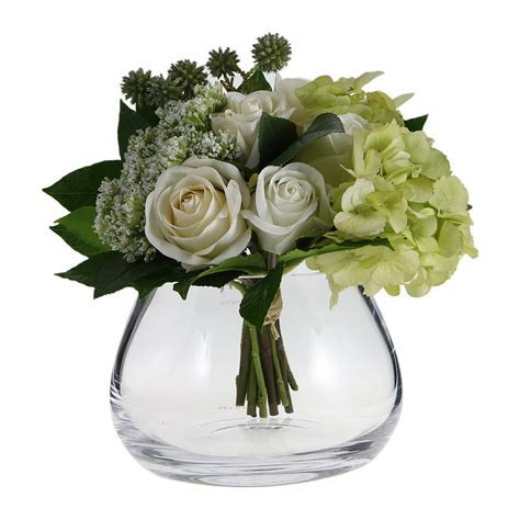 Vase Flower Arrangement by Buy Lsa International Flower Clear Table Arrangement Vase