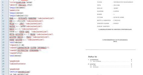 cara membuat daftar isi agar titik titiknya sejajar novrianto blog cara membuat cover daftar isi dan section