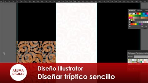Como Hacer Un Trifolio En Adobe Illustrator O Photoshop | como hacer un trifolio en adobe illustrator o photoshop