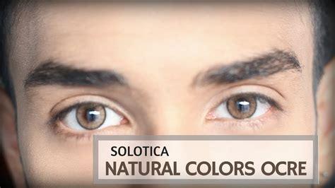 solotica colors ocre solotica colors ocre contact lenses