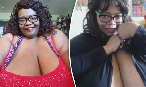world bigest female virgina the woman with the biggest breasts in the world and they