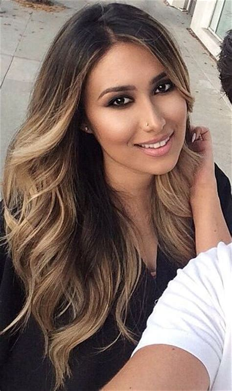 older eoman eith balayage highlights picture of light balayage on black hair gives a texture