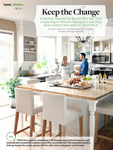 Kitchen Island Table With Seating Oversize Kitchen Island Table With Seating Bhg August 2013 Home Design
