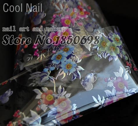 nail transfer foil nail sticker tip decal decoration