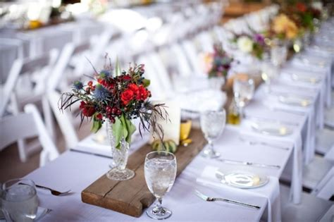 Handmade Table Decorations For Weddings - picture of wedding table runner ideas