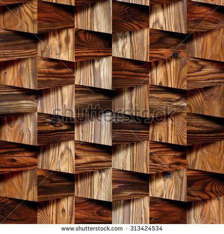 decorative brick wallpaper decorative wooden bricks 3 d wallpaper interior stock