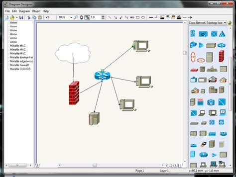 network layout app five free apps for diagramming your network techrepublic