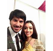 Dulquer Salmaan With His Wife At Asianet Film Awards 2014