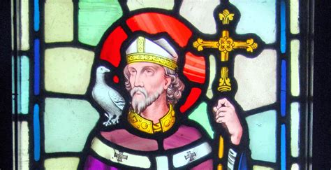 who was st st david the patron of wales