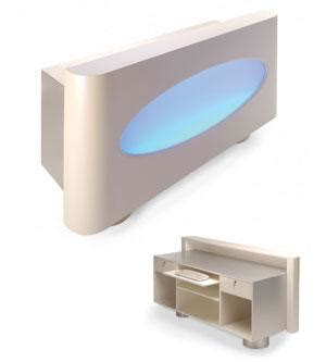 Acrylic Reception Desk Amanicure Tables New York 1 Reception Desk With Illuminated Acrylic Front And Glass Top Design