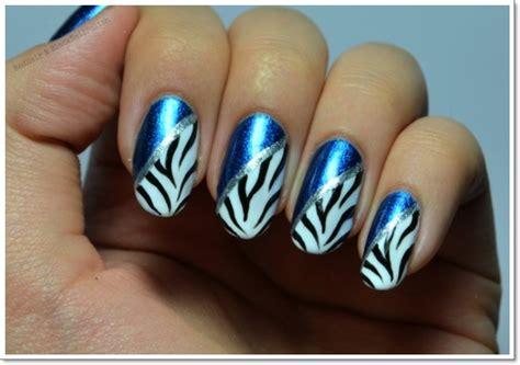 zebra pattern nails 25 zebra print nails design ideas