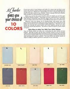 50s color palette 50s color palette for st charles kitchen cabinets flickr