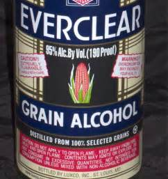 Everclear strongest alcoholic drinks in the world