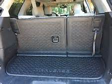 Cargo Liner For Chevy Traverse 09 17 Chevrolet Traverse Integrated Cargo Liner 23190662