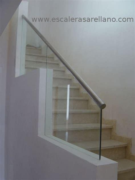 escaleras con barandilla de cristal barandilla de cristal laminado con pasamanos de acero