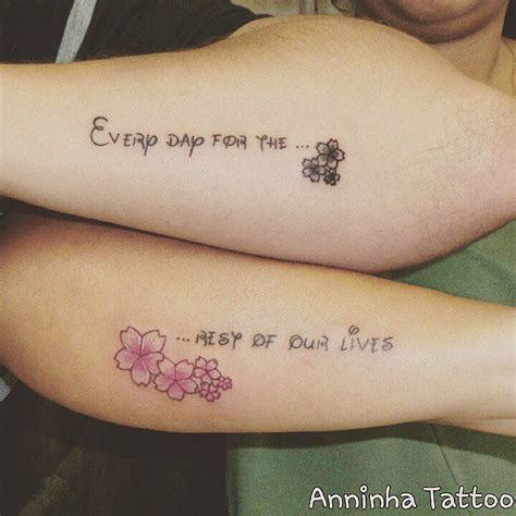 couple tattoos quotes 24 disney tattoos that prove tales are real
