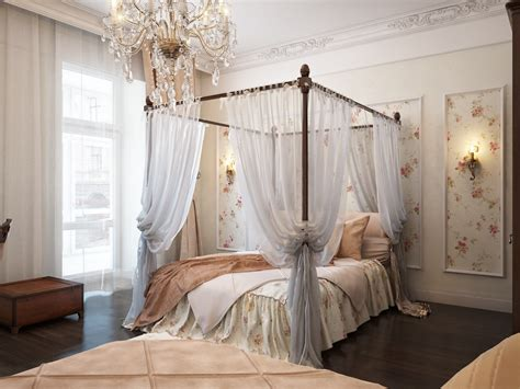 romantic curtains bedroom using wall sconces in the bedroom