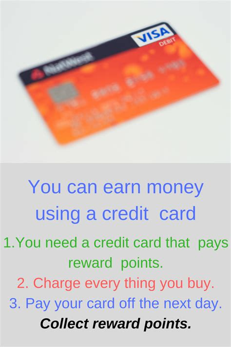 make money credit cards earn money using your credit card the of frugal living