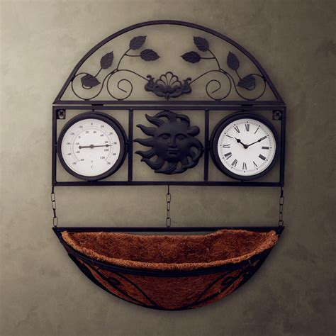 country style wall clocks classical country style hygrometer wall clock fashion
