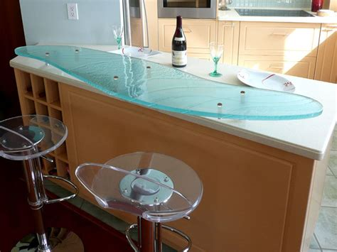 Raised Countertop Supports by Raised Glass Bar Top Rb 104 Cbd Glass