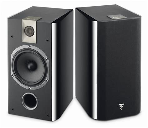 focal chorus 706 black bookshelf speakers at crutchfield