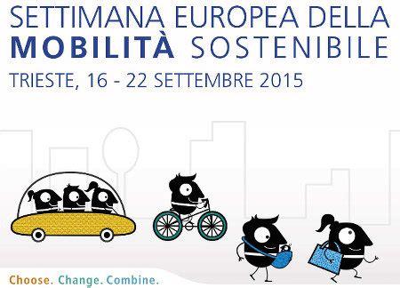 settimana europea della mobilit 224 sostenibile trieste
